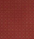 Home Decor 8\u0022x8\u0022 Fabric Swatch-Jaclyn Smith Forward Cardinal