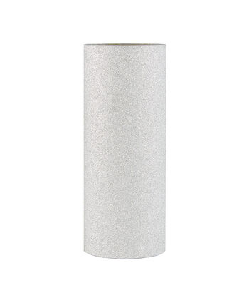 Park Lane Glitter Washi Tape 4''x3.8 yds-Silver