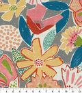 PKL Studio Outdoor Fabric 9\u0022x9\u0022 Swatch-Catchin\u0027 Rays Poppy