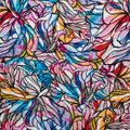 Super Snuggle Flannel Fabric-Colorful Stained Glass