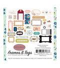 Carta Bella Paper Co. Our House Ephemera Die-cut Cardstock-Frames & Tags