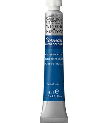 Winsor & Newton Cotman Water Colours 8ml-Prussian Blue