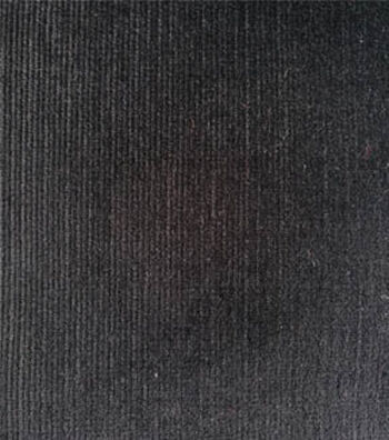 Sportswear Stretch Corduroy Fabric -Black