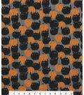 Halloween Cotton Fabric -Belinda\u0027S Big Kitty