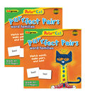 Pete the Cat Purrfect Pairs Game: Word Families, Grade K+, Pack of 2
