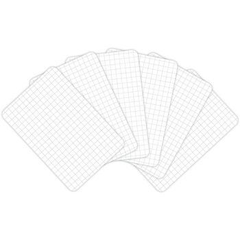 "Project Life 4""X6"" Cards 100/Pkg-Grid"