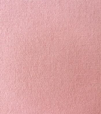 Knit Refined Ponte Fabric -Blush