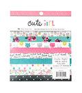 Crate Paper Cute Girl Pack of 36 6\u0027\u0027x6\u0027\u0027 Paper Pad