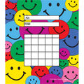 Happy Faces Incentive Charts, 36 Per Pack, 12 Packs