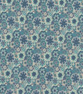 Keepsake Calico Cotton Fabric 44\u0022-Hippie Teal