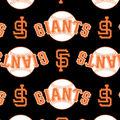 San Francisco Giants Fleece Fabric -Logo