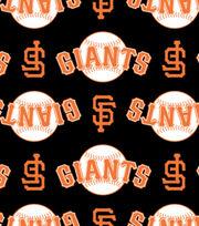 San Francisco Giants Fleece Fabric -Logo, , hi-res