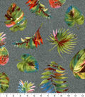 Luxe Flannel Fabric-Watercolor Pineapple