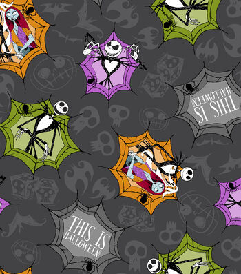 Halloween Cotton Fabric -This Is Halloween!