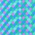 Blizzard Fleece Fabric -Mermaid Scales Blue