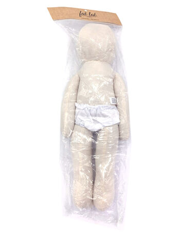 Bendable Muslin Doll 18""