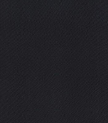 Glitterbug Satin Fabric -Black Solid