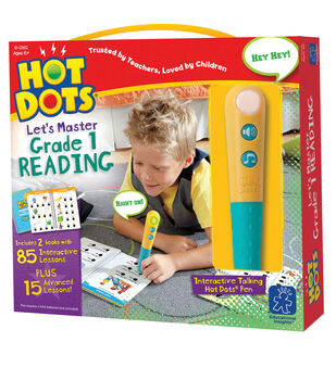 Hot Dots Let's Master Grade 1 Reading