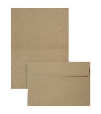 Park Lane 12 pk A1 Cards & Envelopes-Kraft