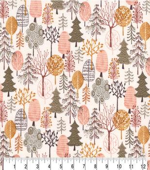 Premium Prints Cotton Fabric-Forest Campground