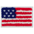 Simplicity Chenille American Flag Iron-on Applique
