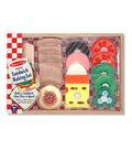 Sandwich-Making Wooden Play Food Set