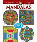 Adult Coloring Book-Creative Haven Mandalas