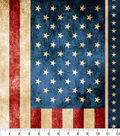 Patriotic Novelty Cotton Panel-American Flag