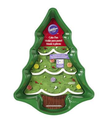 Wilton Novelty Cake Pan-Green Tree