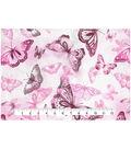 Keepsake Calico Cotton Fabric 43\u0027\u0027-Butterfly Watercolor