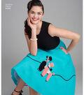 Simplicity Pattern 8446 Misses\u0027 Skirt & Cummerbund-Size U5 (16-24)