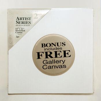12x12 Canvas Bonus Pack
