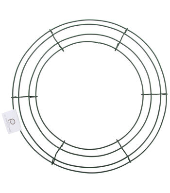 Panacea Products 18'' Box Wire Wreath Frame-Green