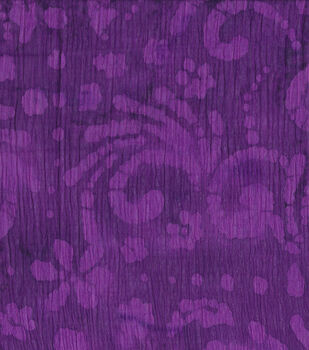Gauze Batik Fabric-Purple