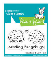"Lawn Fawn Clear Stamps 3""X2""-Hedgehugs, , hi-res"