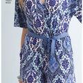 Simplicity Pattern 8333 Misses\u0027 Knit Jumpsuit & Dress-Size P5 (12-20)