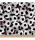 Snuggle Flannel Fabric -Soccer Multi