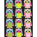 Die Cut Magnet Scribble Owls 12/pk,  Set Of 6 Packs