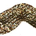 Metallic Rick Rack 5/8\u0022 Wide 12 Yards-Gold