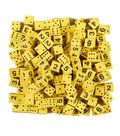 Koplow Games Foam Spot & Number Dice, Yellow, 16mm, Bag of 200