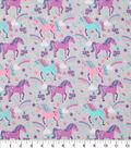 Novelty Cotton Fabric 43\u0027\u0027-Unicorns & Rainbows