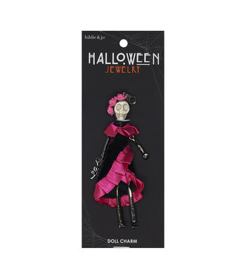 hildie & jo Halloween Doll Pendant-Day Of The Dead Dancing Esperanza
