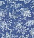 Waverly Multi-Purpose Decor Fabric-Follow the Trail Denim
