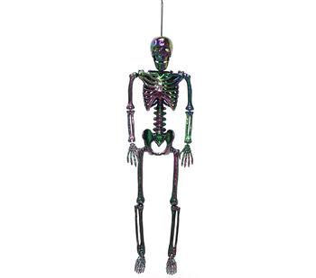Maker's Halloween 24'' Skeleton-Oil Slick