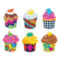 Cupcakes The Bake Shop Classic Accents Variety Pack, 36/Pack, 6 Packs