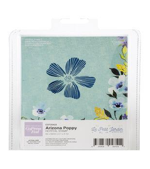 Couture Creations Le Petit Jardin Hotfoil Stamp-Arizona Poppy