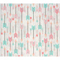 Super Snuggle Flannel Fabric-Arrows on Wood
