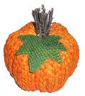 Simply Autumn Small Braided Pumpkin-Orange