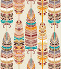 Snuggle Flannel Fabric -Southwestern Feathers