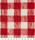 Home Essentials Home Décor Fabric- Sackett Red